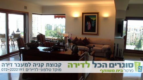 עיצוב חלל הסלון - לעוברים דירה