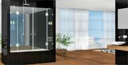 בוקר מקלחונים בשיתוף לאונרדו מקלחונים ועיצוב בזכוכית